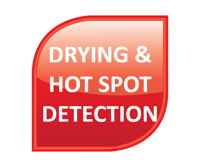 Drying and Hot Spot Detection