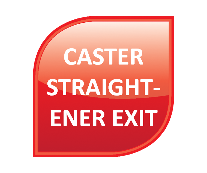 Hot Rolling - Caster Straightener Exit