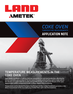 Application Note - COKE OVEN TEMPERATURE MEASUREMENT